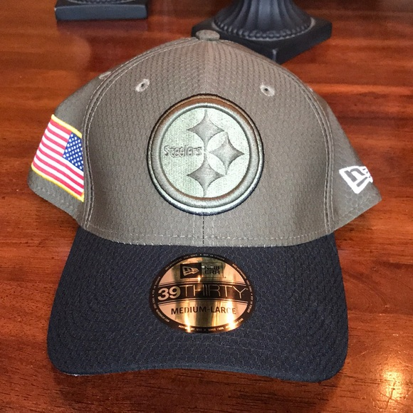 Pittsburgh Steelers Salute to Service New Era Cap 885922cfb
